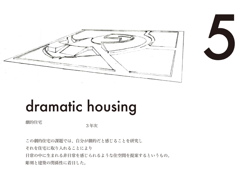 dramatic housing 0
